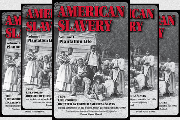 American Slavery - book cover with family of five generations